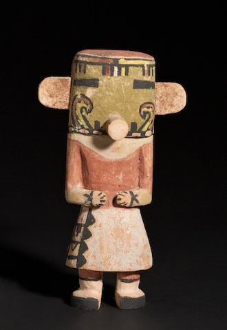 A Muzribi kachina doll