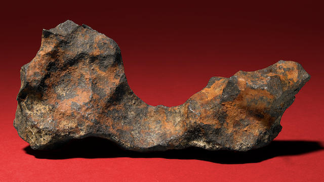 Unique Gibeon Meteorite