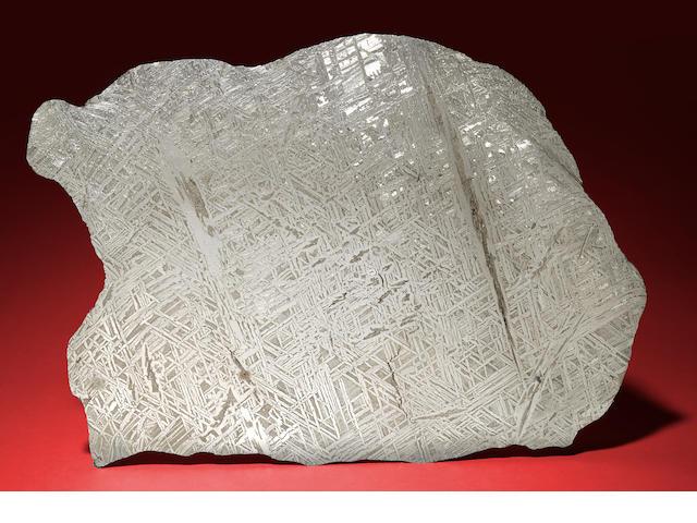 Semchan Meteorite Slice - Approx 8500 gms.