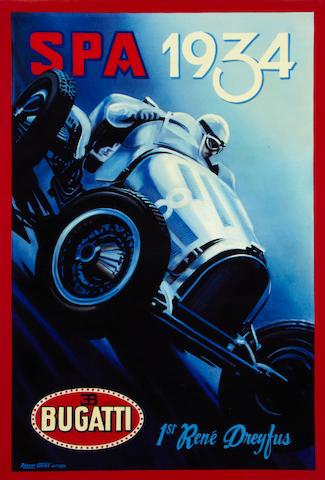Robert Carter, 'Bugatti at SPA',