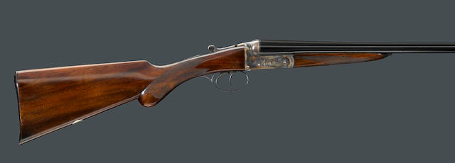 A 16 gauge English boxlock shotgun for S. Braybrook
