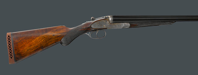 A 12 English Excellentia Grade sidelock ejector gun by W.& C. Scott