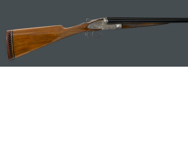 A 12 gauge Belgian sidelock ejector shotgun for Henri Scherrer, Paris