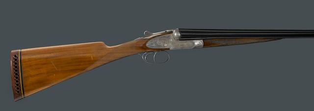 A 12 gauge Belgian sidelock ejector shotgun for Henri Scherrer, Paris