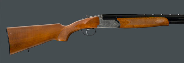 A 12 gauge Aurum over/under shotgun by Battista Rizinni