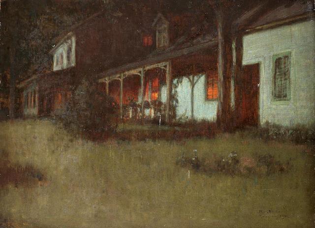Yoshida Hiroshi (1876-1950) Evening in Tyringham, 1905