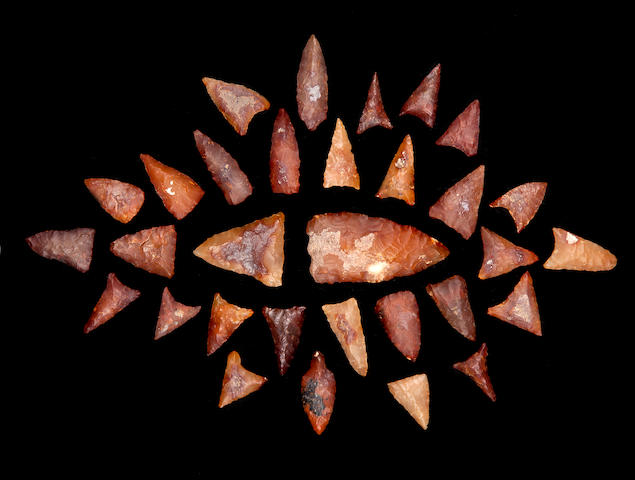 A Collection of Tenerean Neolithic Projectile Points