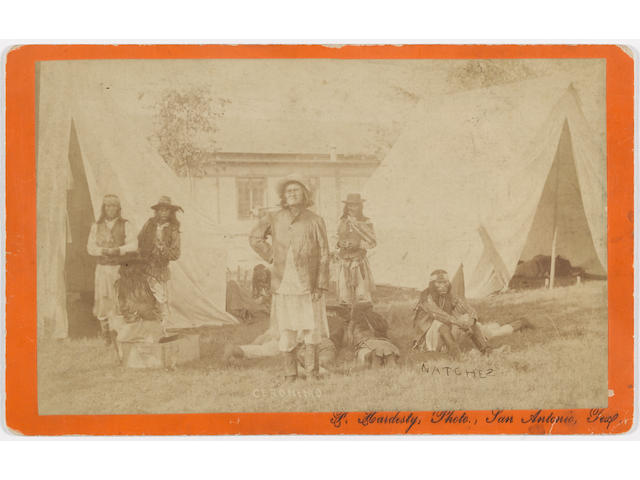 F. Hardesty, imperial card