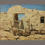 Thaddeus Welch (American, 1844-1919), Adobe Ruins, New Mexico
