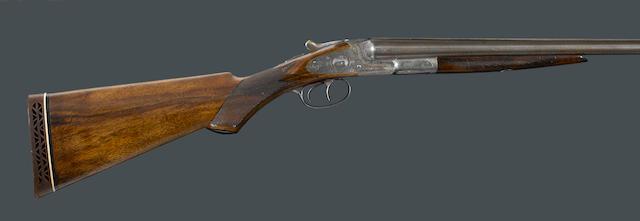 A 20 gauge Grade 2 L.C. Smith sidelock ejector shotgun