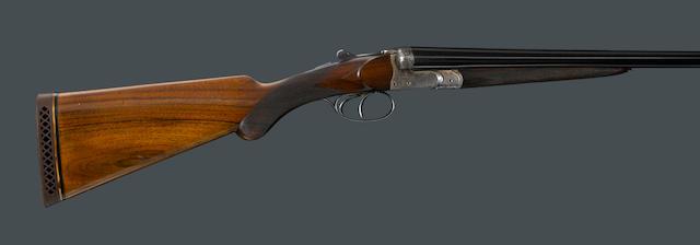 A 16 gauge boxlock shotgun by Auguste Francotte
