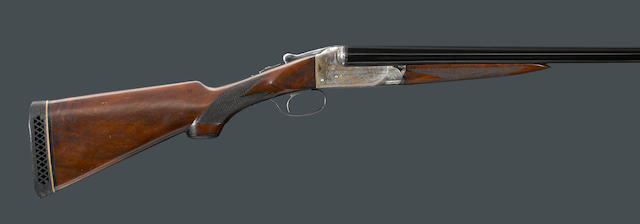A 16 gauge Ithaca Grade 1 1/2 Flues Model boxlock shotgun