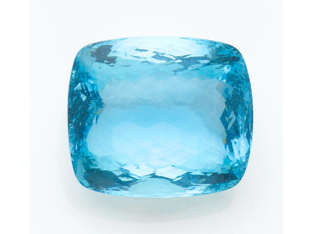 Very Large Checkerboard Aquamarine