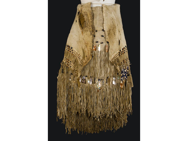 A Yurok dance apron and dress