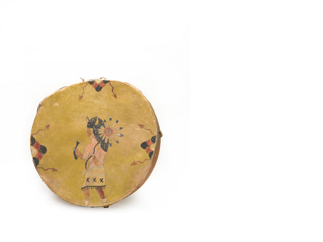 A Pueblo drum