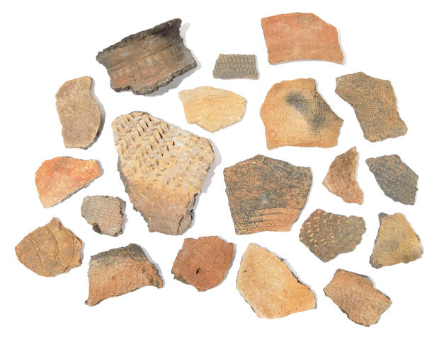 Group of Pottery Chards (234)