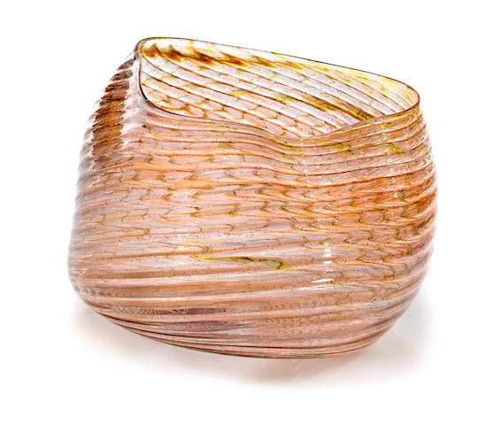 A Dale Chihuly Blown Glass OSU Macchia, 1982