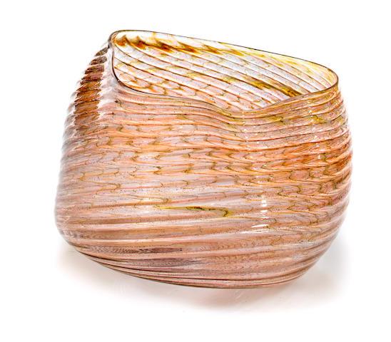 A Dale Chihuly Blown Glass OSU Macchia, 1982