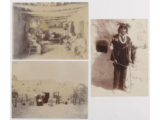 A.C. Vroman, three photographs