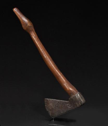 A belt axe