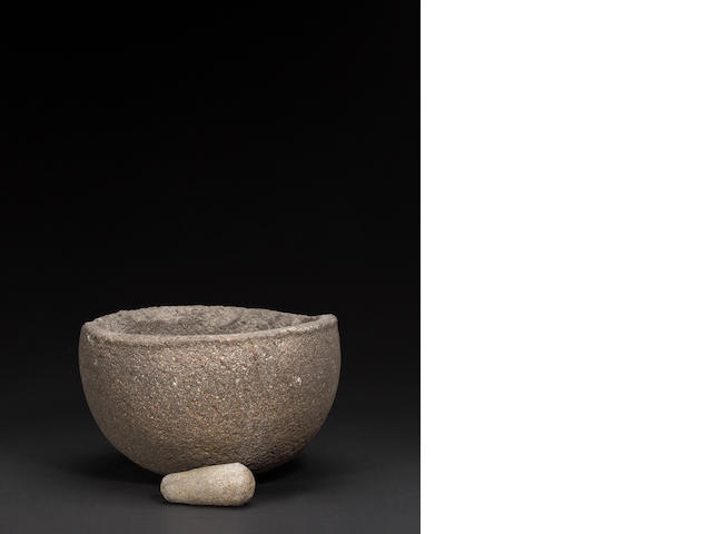 A Southern California stone bowl