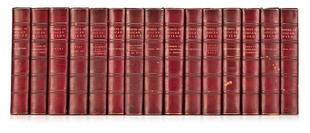 WILDE, OSCAR. 1854-1900. The Works of Oscar Wilde. New York: Lamb, 1909.