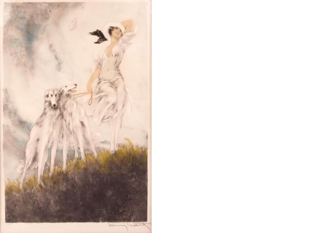 Louis Icart (French, 1888-1950); Joy of Life;