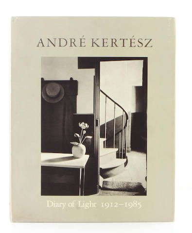 [KERTESZ, ANDRE.] Andre Kertesz: Diary of Light 1912-1985. New York: Aperture, 1987.