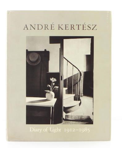 [KERTESZ, ANDRE.] Andre Kertesz: Diary of Light 1912-1985. New York: Aperture, 1987.