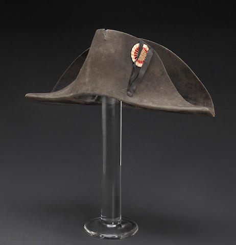 A French Empire officer's chapeau