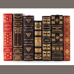 A COLLECTION OF 34 FRANKLIN LIBRARY LEATHER BOUND BOOKS.
