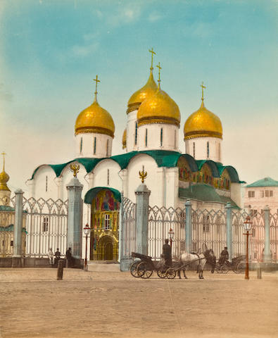12 Photos of Moscow and Novgorod, late 19th cent