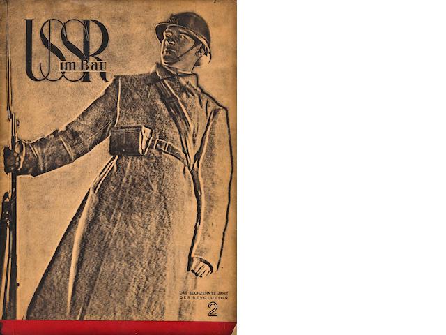 LISSITZKY, El.  USSR im Bau. Feb 1933.