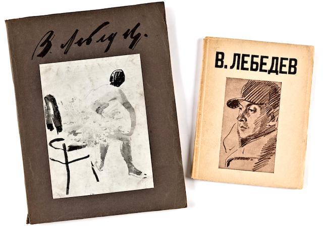 LEBEDEV, V. V. 2 catalogs.