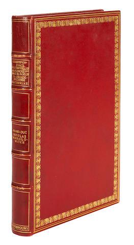 ALEXANDER I. 1777-1825. Correspondance de l'Empéreur Alexandre Ier avec sa sœur ... Catherine. St. Petersburg: Manufacture des papiers de l'état, 1910.