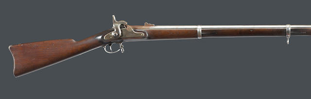 A U.S. Model 1863 Springfield percussion rifle-musket