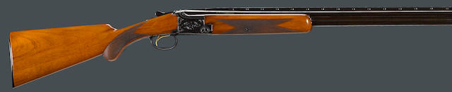 A 28 gauge Belgian Browning Grade I superposed boxlock skeet shotgun