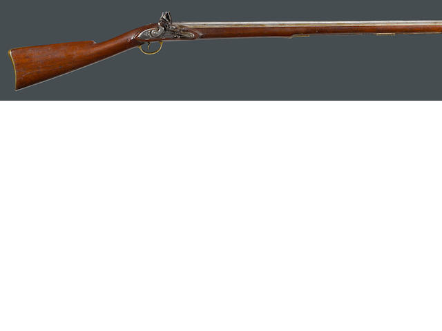 A New England flintlock militia musket by Lane & Read of Boston, Massachusetts
