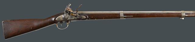 A U.S. Model 1816 Springfield contract flintlock musket
