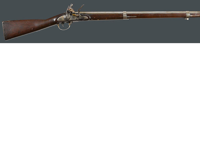 A U.S. Model 1816 Springfield contract flintlock musket