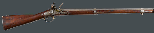 A U.S. Model 1816 contract flintlock musket by R. & J.D. Johnson