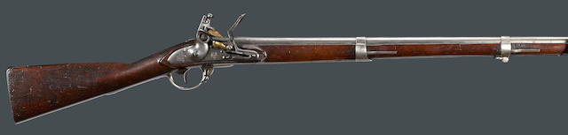 A scarce U.S. Model 1817 Harpers Ferry flintlock artillery musket