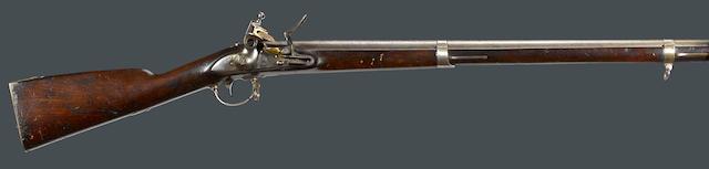 A U.S. Model 1835/40 Springfield flintlock musket