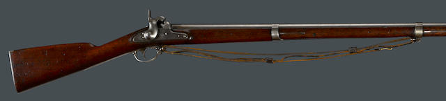 A scarce U.S. Model 1851 Springfield percussion cadet musket