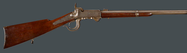 A 4th Model Burnside breechloading percussion carbine