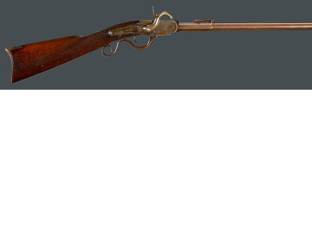 A 2nd Model Cosmopolitan breechloading percussion carbine