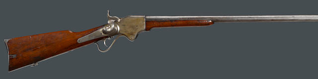 A Spencer post-war conversion repeating shotgun