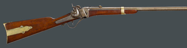 A Sharps Model 1853 slant breech percussion carbine
