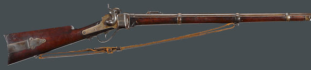 A Sharps New Model 1859 breechloading military rifle