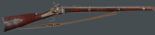 A Sharps New Model 1859 breechloading military rifle